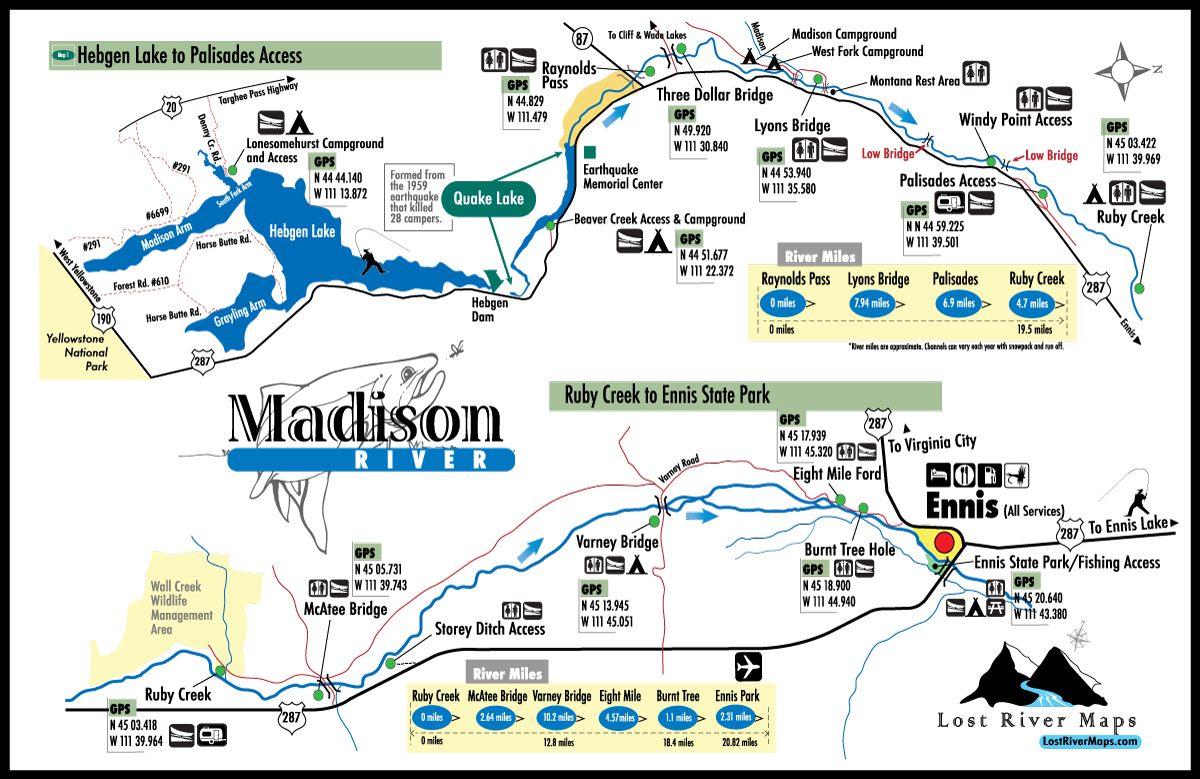 Welcome To Lost River Maps Madison River