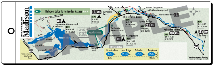 Madison River Montana Map.Welcome To Lost River Maps Madison River